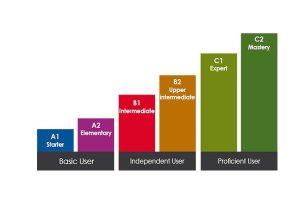 diagrama niveluri limba engleza CEFR utilizatori