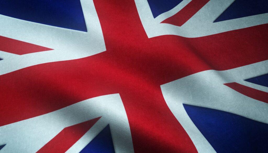 detaliu din steagul marii Britanii