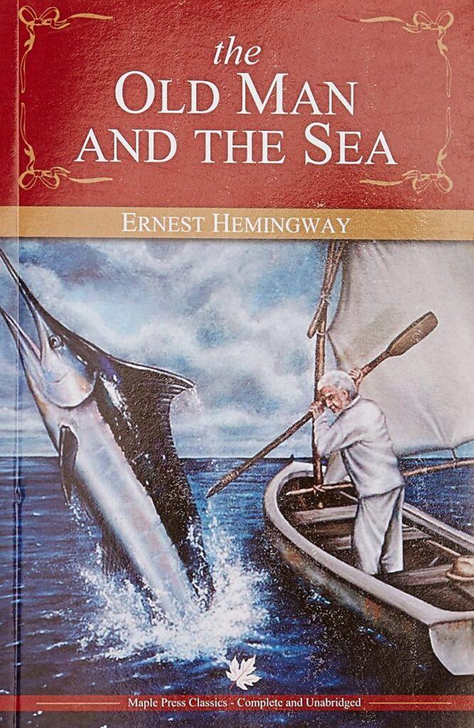 coperta 1 a cartii The old man and the sea, de Hemingway